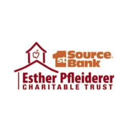 1st Source Bank Esther Pfleiderer Charitable Trust Logo